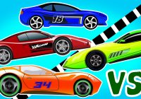 Cars for Kids Beautiful Sports Car Racing Cars Cars for Kids