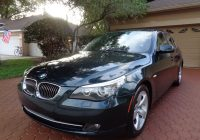 Cars for Sale by Elderly Owners Awesome Amazing 2008 Bmw 5 Series Premium Luxury Package 2008 Bmw 528i Premium Package Bluetooth Xm Sunroof 1 Fl Elderly Owner Pristine 2018 2019