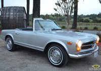 Cars for Sale by Elderly Owners Lovely 1969 Mercedes Benz 280sl – Classic Cars Ltd Pleasanton