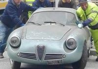 Cars for Sale by Elderly Owners Lovely Incredibly Rare $642k 1962 Alfa Romeo Found In Italian