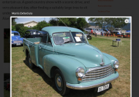 Cars for Sale by Elderly Owners Luxury Info On Morris Oxford Ute Shannons Club