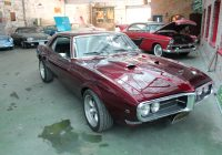 Cars for Sale by Fantomworks Elegant 1968 Pontiac Firebird Brandywine