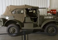 Cars for Sale by Military Owner Luxury Could This Dodge Wc57 Mand Car Have Been Patton S