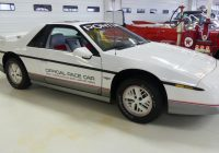 Cars for Sale by Pontiac Best Of 1984 Pontiac Fiero Se Indy Pace Car Stock for Sale Near