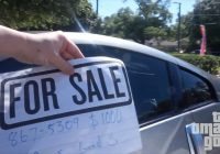 "Cars Sale De Fresh Putting ""for Sale"" Signs On Random Cars"