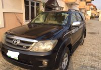 Cars Sale for Lagos Best Of 2007 toyota fortuner Used Car for Sale In Lagos Nigeria