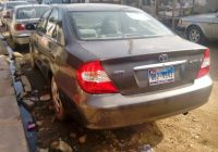 Cars Sale for Lagos Luxury Extra Neat 2004 Model toyota Camry for Sale at An Affordable Price