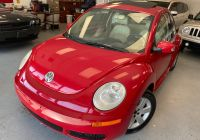 Cars Similar to Volkswagen Beetle Awesome 2007 Volkswagen New Beetle Coupe 2dr Auto