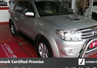 Certified Used Cars Near Me Elegant toyota fortuner 3 0d 4d 4×4 Auto 2010