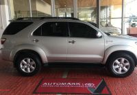 Certified Used Cars Near Me New toyota fortuner 3 0d 4d Automatic 2010