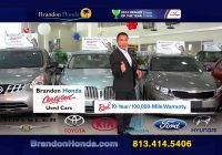 Certified Used Cars New Brandon Honda Certified Used Cars Warranty Youtube