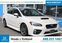 Cheap Pre Owned Cars New Pre Owned 2016 Subaru Wrx Sti Limited 4dr Car In Kirkland A
