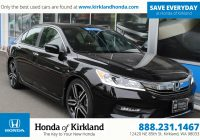 Cheap Pre Owned Cars Unique Certified Pre Owned 2016 Honda Accord Sedan Sport 4dr Car In
