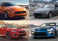 Cheap Vehicles Luxury the Best Cheap Sports Cars Of 2017 the Drive