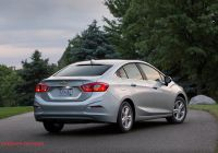 Chevrolet Cruise New 2018 Chevrolet Cruze Reviews and Rating Motor Trend