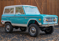 Classic Car Zoom Background Beautiful 1968 ford Bronco