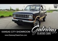Classic Cars for Sale Kansas City Fresh 1988 ford Bronco Ii Gateway Classic Cars Kansas City