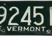 Classic Cars for Sale Vermont Fresh 1957 Vermont License Plate