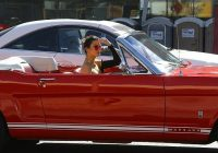 Classic Cars You Can Daily Drive Awesome Kendall Jenner Cruises Around La In Her Classic Mustang