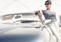 Classic Cars Zambia Inspirational Senior Woman Standing Next to Convertible Classic Car Sponsored Affiliate Modern Senior Outdoor Portrait