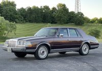 Classic Cars Zanesville Ohio Best Of No Reserve 34k Mile 1987 Lincoln Continental Givenchy