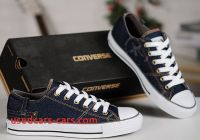 Converse 2015 New 2015 Retro Converse Blue Jeans Style Chuck Taylor All Star