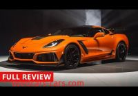 Corvette Zr1 Review Luxury 2019 Chevrolet Corvette Zr1 Review American Supercar