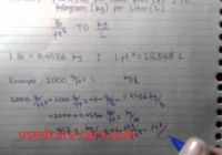 Cubic Feet to Liters Luxury Convert Pound Per Cubic Foot to Kilogram Per Liter Youtube
