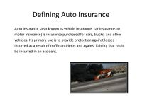 Direct Auto Insurance Fresh Motor Insurance Powerpoint Slides