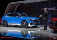 Does Audi Make A Hybrid Lovely Audi Q8 Hybrid Suv Concept at Detroit Auto Show Photos