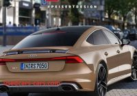 Does Audi Make A Hybrid Luxury 2019 Audi Rs7 Hybrid Will Make 700 Hp and Do 0 100 In 3 4