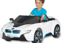 Electric Ride On Beautiful Bmw I8 Concept Car 6 Volt Battery Powered Ride On Walmart