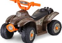 Electric Ride On toys Lovely Kid Trax 6v Mossy Oak Quad Ride On Walmart