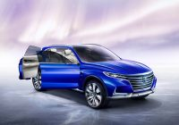 Electric Suv Awesome Roewe Vision E Concept Electric Suv Wallpaper