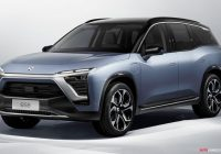 Electric Suv Luxury Nio Unveils New Production Electric Suv for China