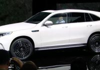 Electric Suv New Mercedes Benz Unveils Eqc Electric Suv Says It S Going