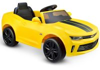 Electric toy Cars Lovely Kids Ride On toy Electric Car Camaro Rs Bumblebee Play Yellow 6v