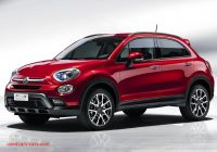 Fiat 500x Crossover Luxury Fiat 500x Compact Crossover Officially Unveiled In Paris