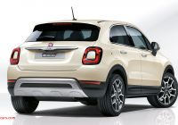 Fiat 500x Crossover New New Fiat 500x Review the Crossover Gets A Facelift Car