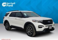 Ford 2020 April Incentives Awesome New ford Explorer St with Navigation & 4wd