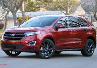 Ford 2020 Edge Beautiful 2017 ford Edge Sport Review the Power to Corrupt Con