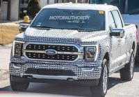 Ford 2020 F350 Specs Luxury 2021 ford F 150 Spy Shots