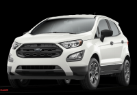 Ford 2020 Lease Deals Beautiful 2020 ford Ecosport S