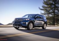 Ford 2020 Lineup Awesome Gallery Inside the All New 2020 ford Explorer