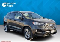 Ford 2020 New Colors Best Of New 2020 ford Edge Sel Awd