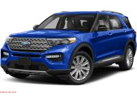 Ford 2020 New Colors Fresh 2020 ford Explorer Platinum 4dr 4×4 Pricing and Options