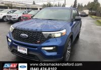 Ford 2020 New Models Luxury New 2020 ford Explorer St 4wd with Navigation & 4wd