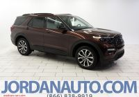 Ford 2020 New Suv Elegant New 2020 ford Explorer St with 4wd