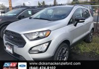 Ford 2020 New Suv Lovely New 2020 ford Ecosport Ses 4wd with Navigation & 4wd