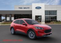 Ford 2020 Rebates Awesome 2020 ford Escape Se